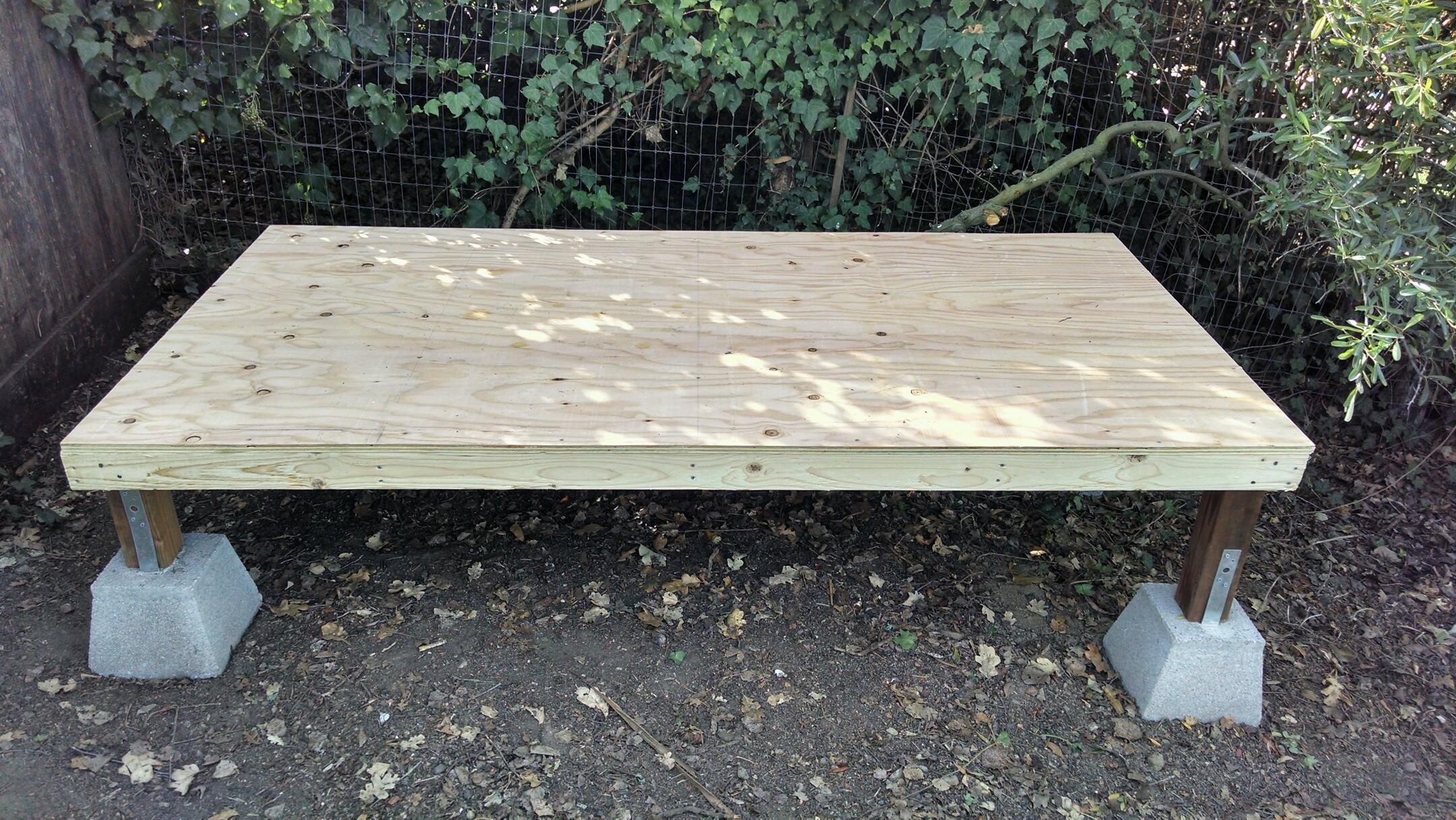 Co Op Garden Furniture Chicken coop lars andersen woodworking foundation and floor workwithnaturefo